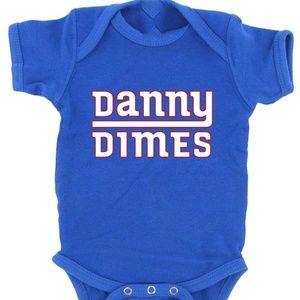 Daniel Jones New York Giants DANNY DIMES Onesie